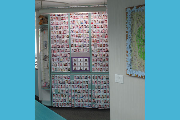 Check out our Patient Wall, where you can find photos of your friends!